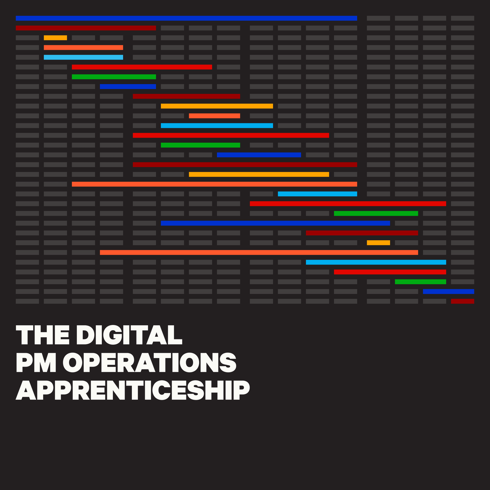 Digital PM Operations Apprenticeship course cover