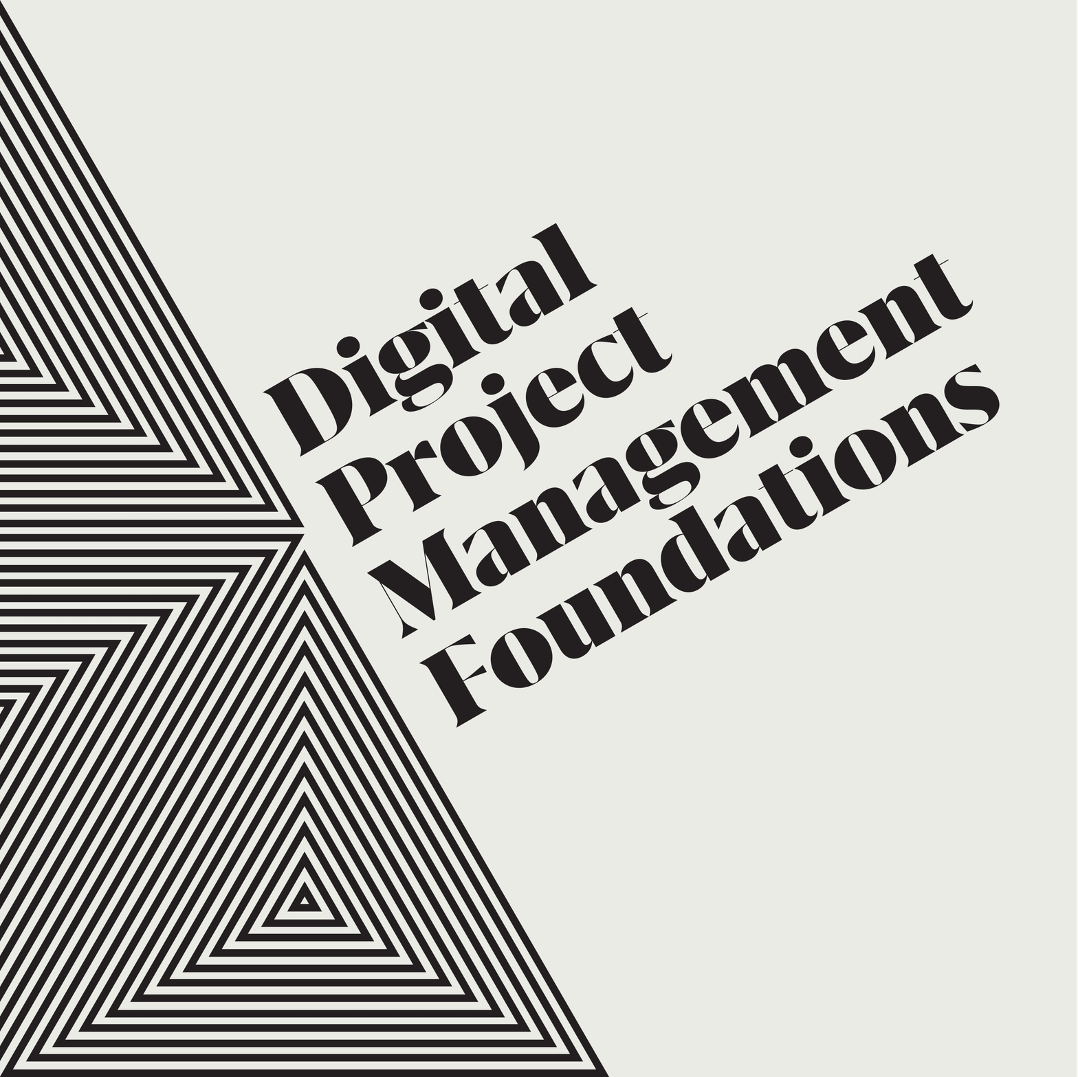 Digital Project Management Foundations course cover