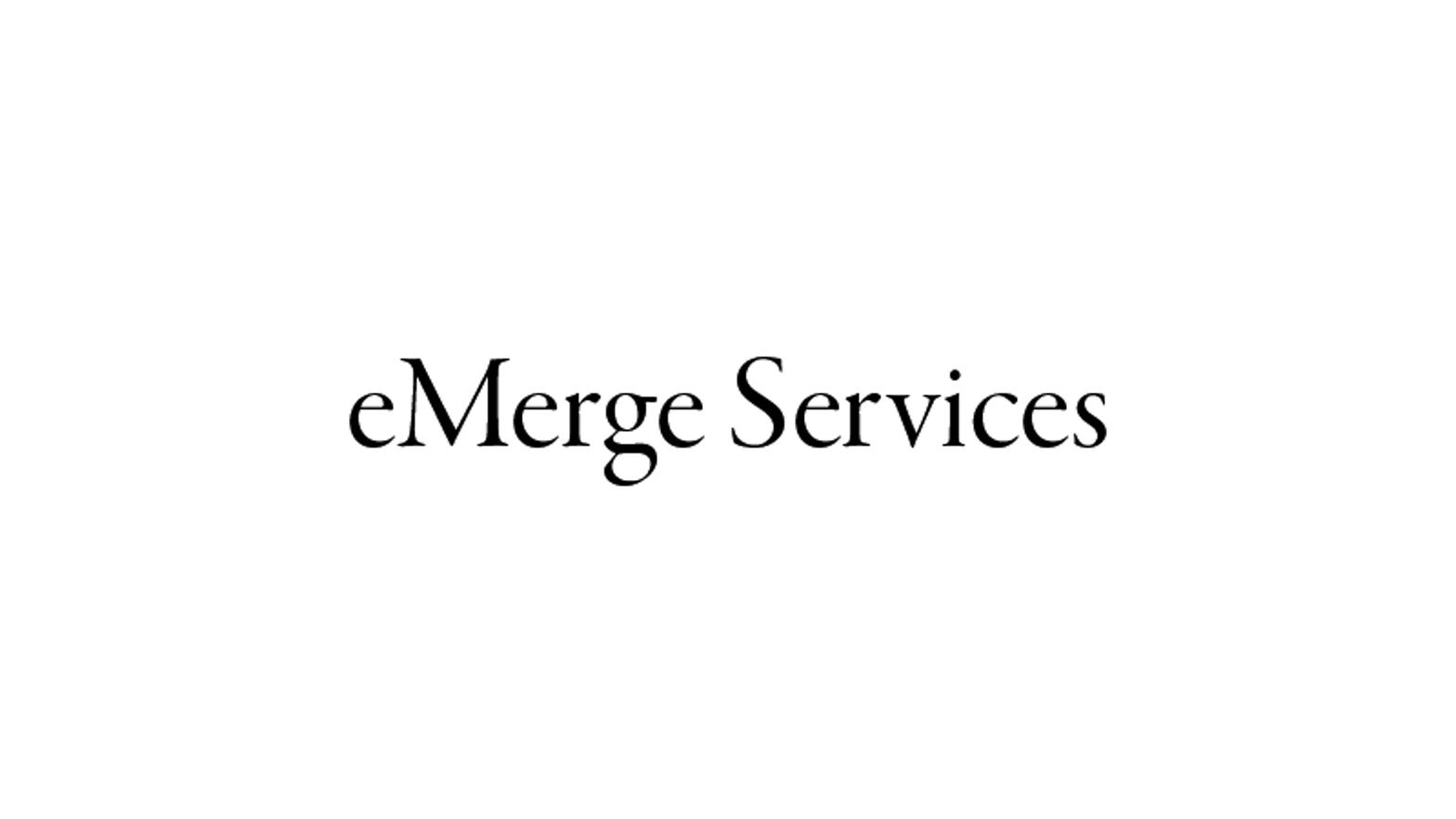 The eMerge Services logo