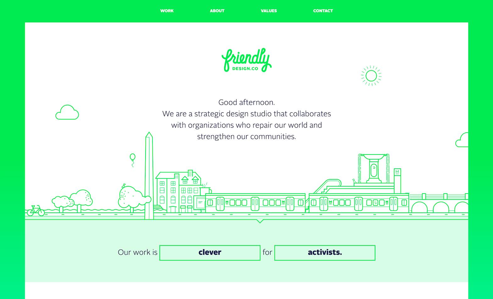 Friendly Design Co website