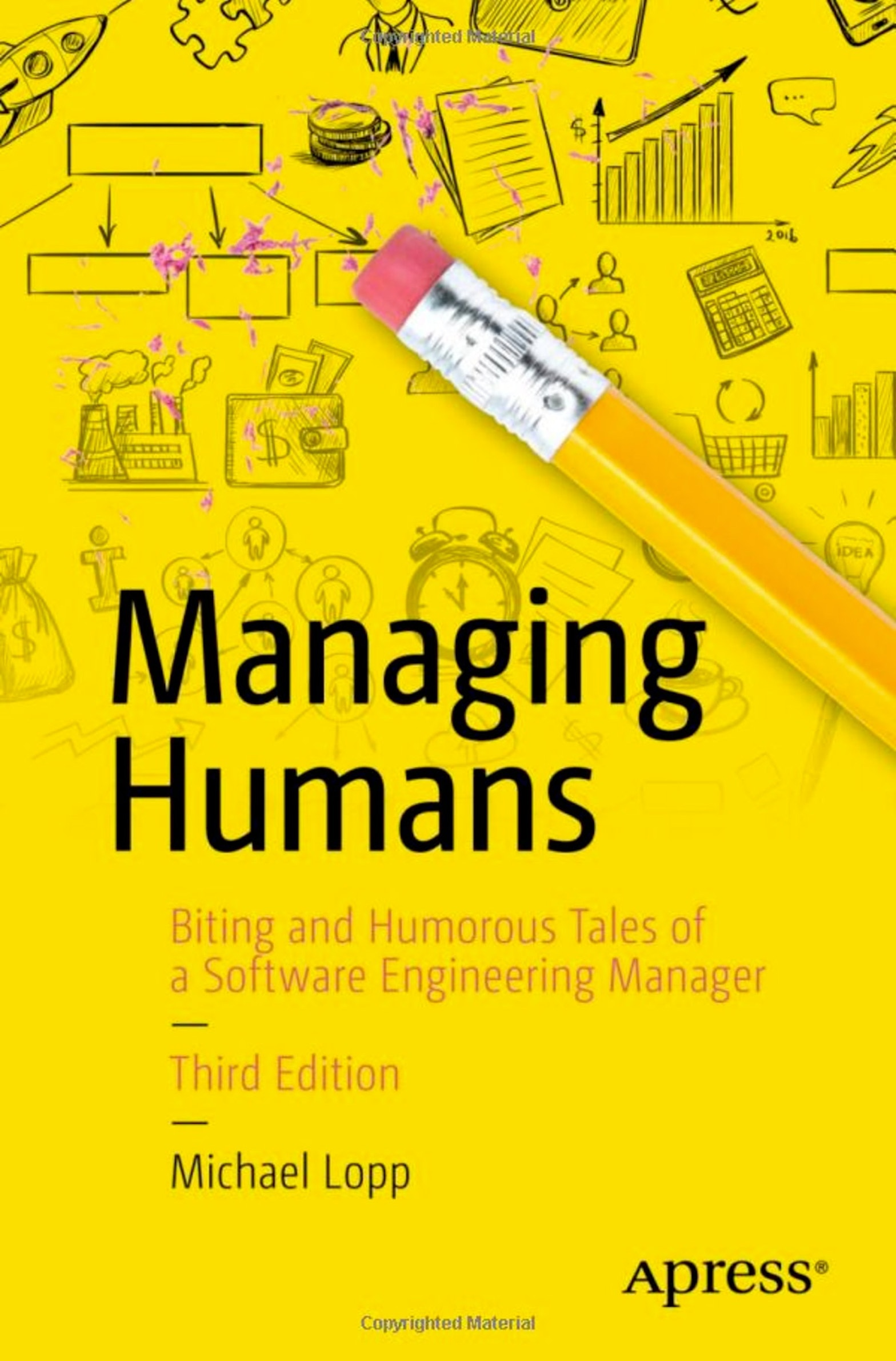The cover of Managing Humans, by Michael Lopp