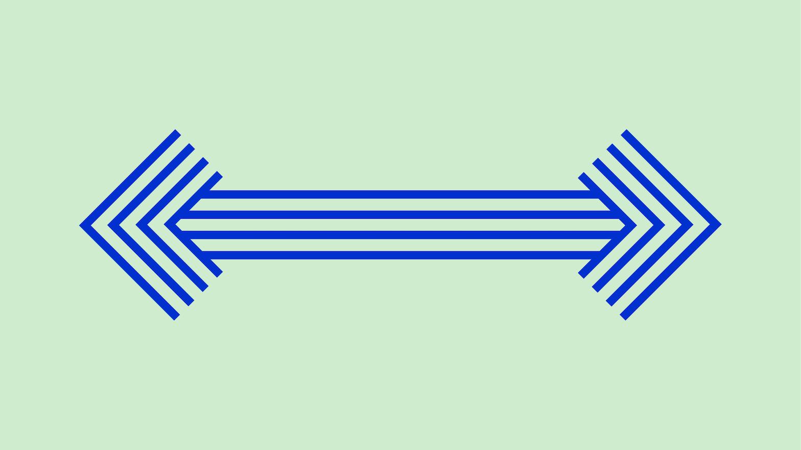 Double sided arrow