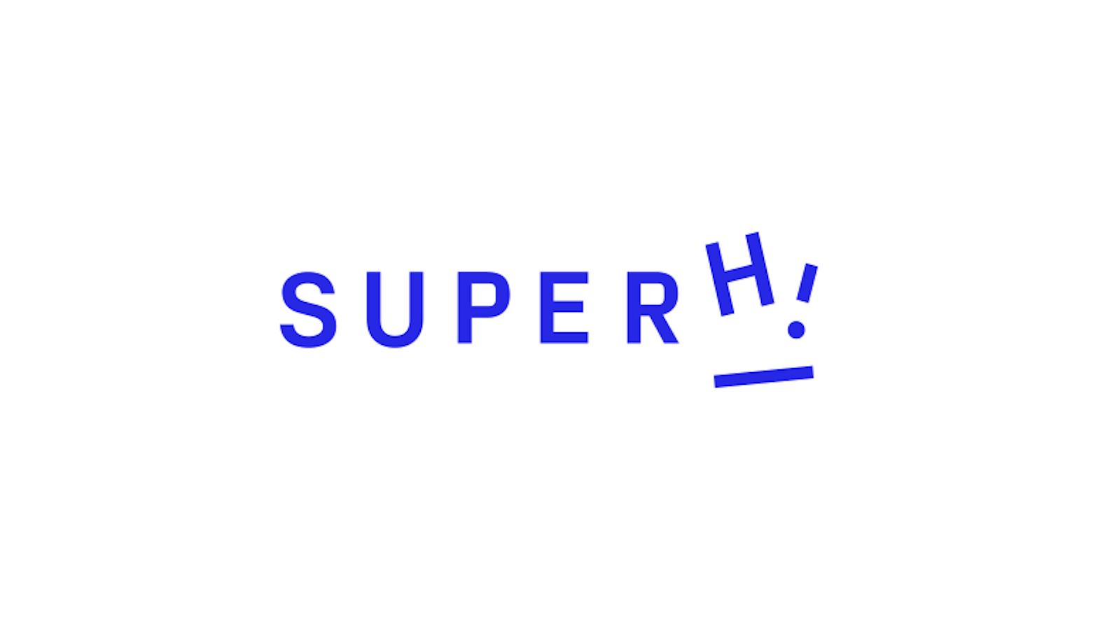The SuperHi logo