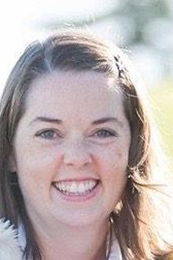 Amy Murray's pretty face.