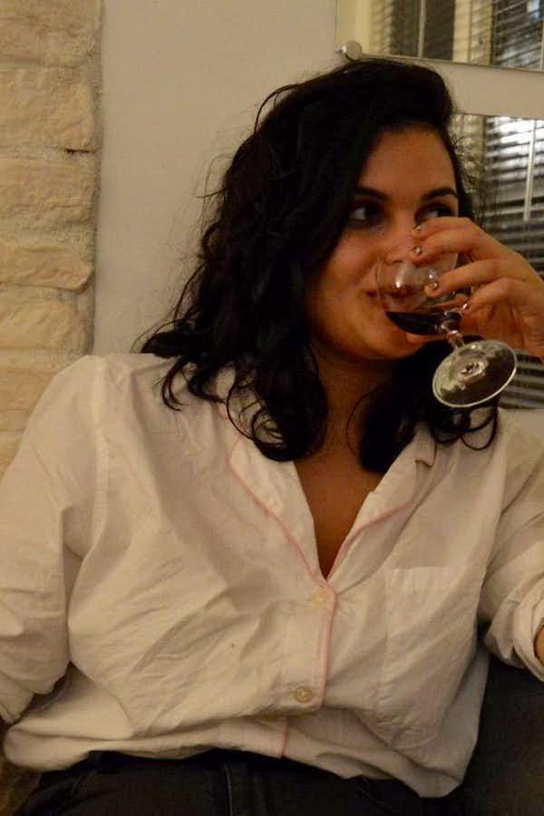 Reina Gattuso's pretty face.