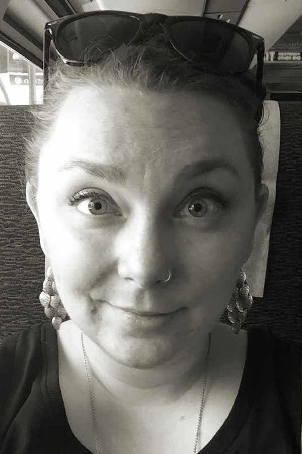 Natalie Semczuk's pretty face.