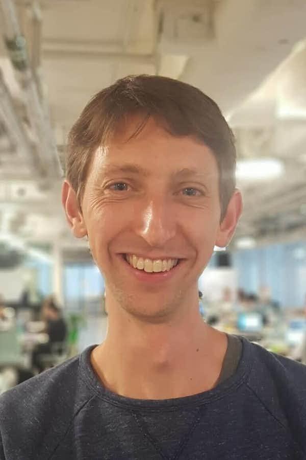 Tom Greenwood's wonderful face.