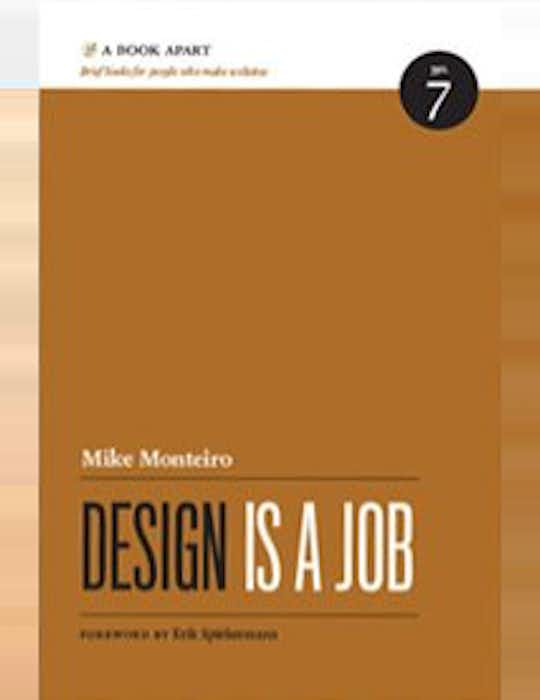 Design Is a Job cover