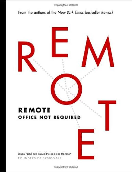 Remote: Office Not Required cover