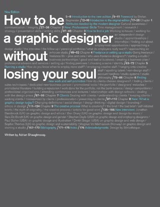 How to Be a Graphic Designer without Losing Your Soul cover