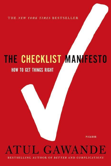 Checklist Manifesto cover