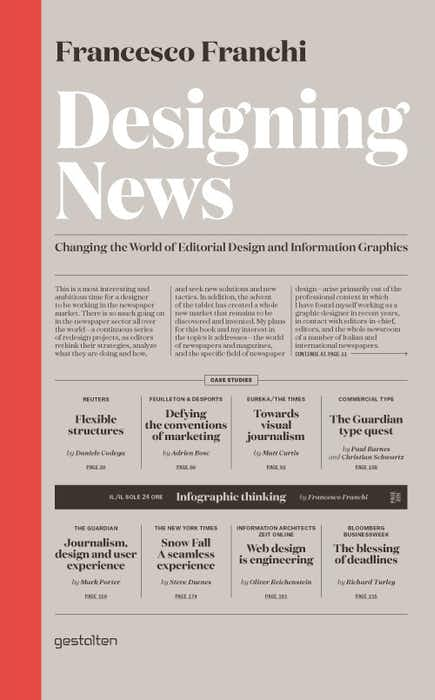 Designing News: Changing the World of Editorial Design and Information Graphics cover