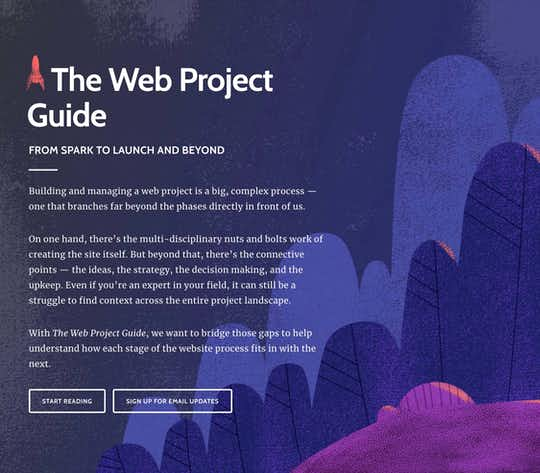 The Web Project Guide cover